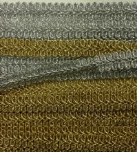 Metallic Gold Gimp Braid x 1m
